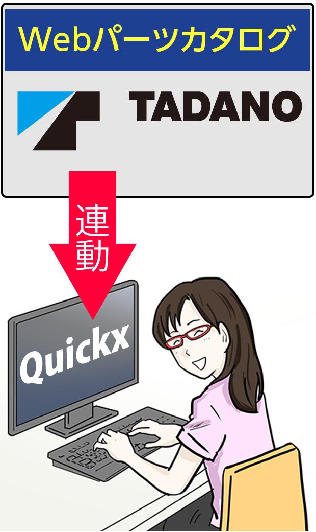 quickx の機能